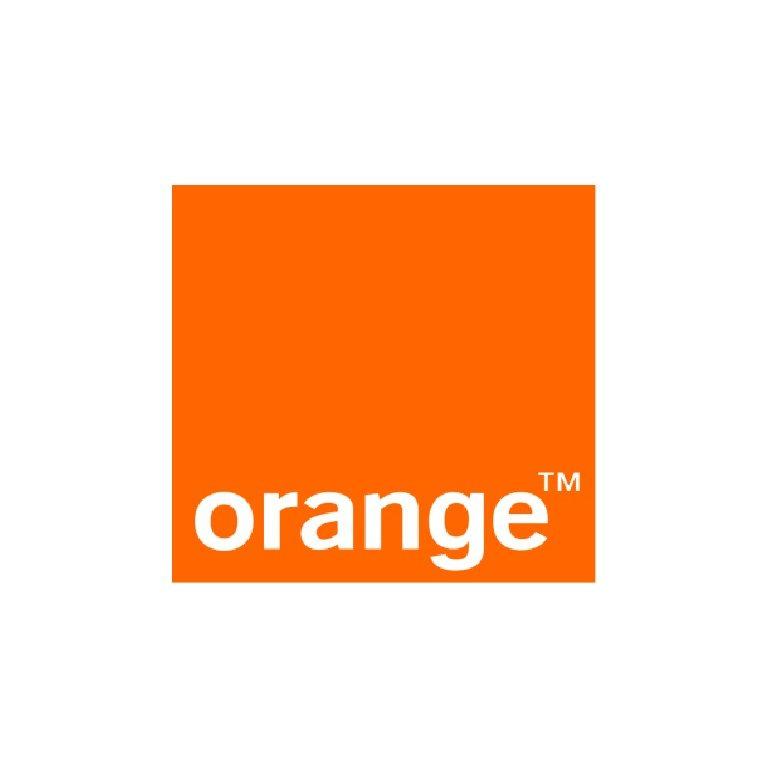 orange plain 768