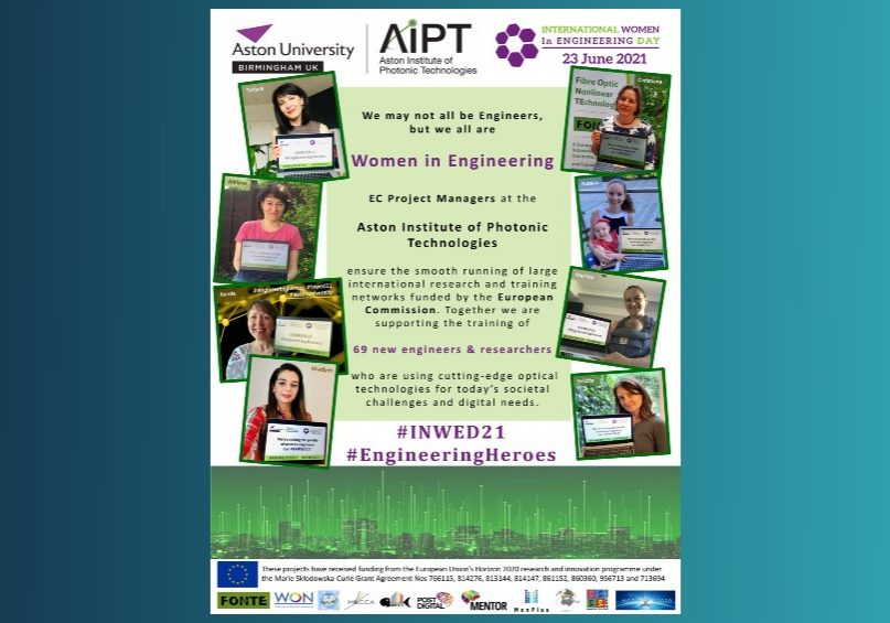 outreach inwed project managers poster mentor