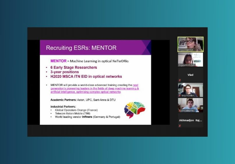 Outreach MENTOR talk with Erasmus students